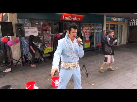 Elvis Shmelvis live in St.Albans 2015 – Devil in disguise