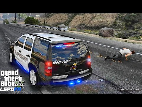 LSPDFR #478 SHERIFF PATROL!! (GTA 5 REAL LIFE POLICE PC MOD)