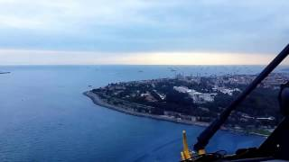 Helikopter ile İstanbul Boğaz Turu / Istanbul bosphorus tour with helicopter