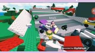 My First Video xDD💗/ Natural Disaster Roblox