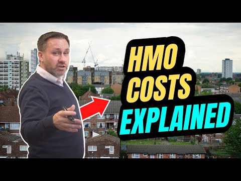HMO Cost Break Down - UK Property Investing - UK Property Flip