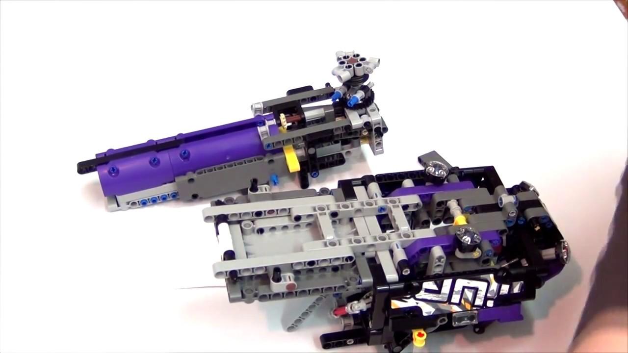 LEGO TECHNIC 42069 C MODEL - TUTORIAL PART 3 - YouTube