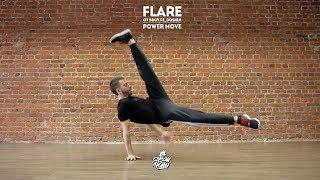 14. Flare (Power move) | B-boy Fedoskin tutorial (видео-урок от Фёдора Смирнова)