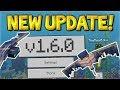 MCPE 1.6.0 NEW UPDATE! - Minecraft PE/Xbox 1.6.0 NEW Phantoms Mobs & Barrier Blocks!