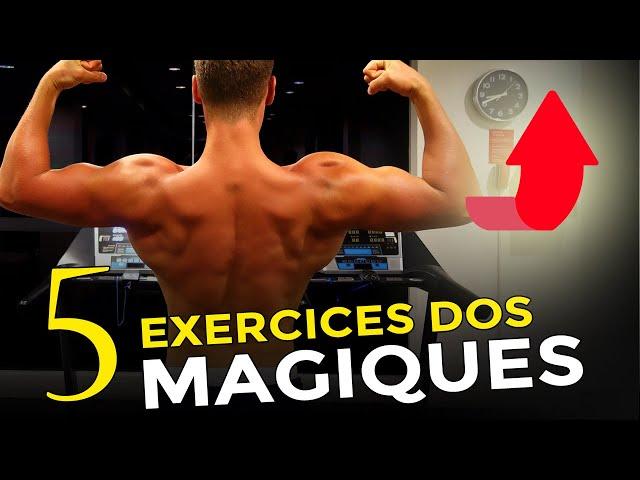 5 EXERCICES POUR UN DOS LARGE ET ÉPAIS AVEC CE PROGRAMME