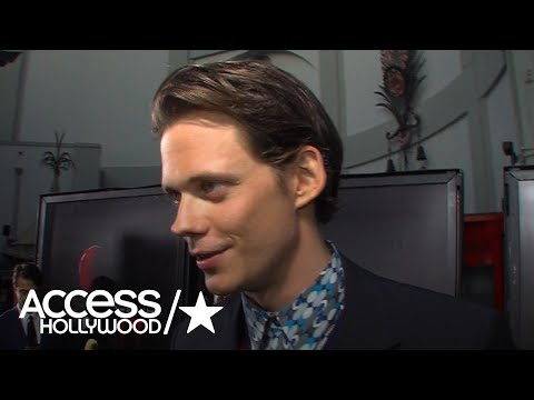 'It' Movie: Bill Skarsgård On Playing Pennywise & Being Known As The 'Hot Clown'