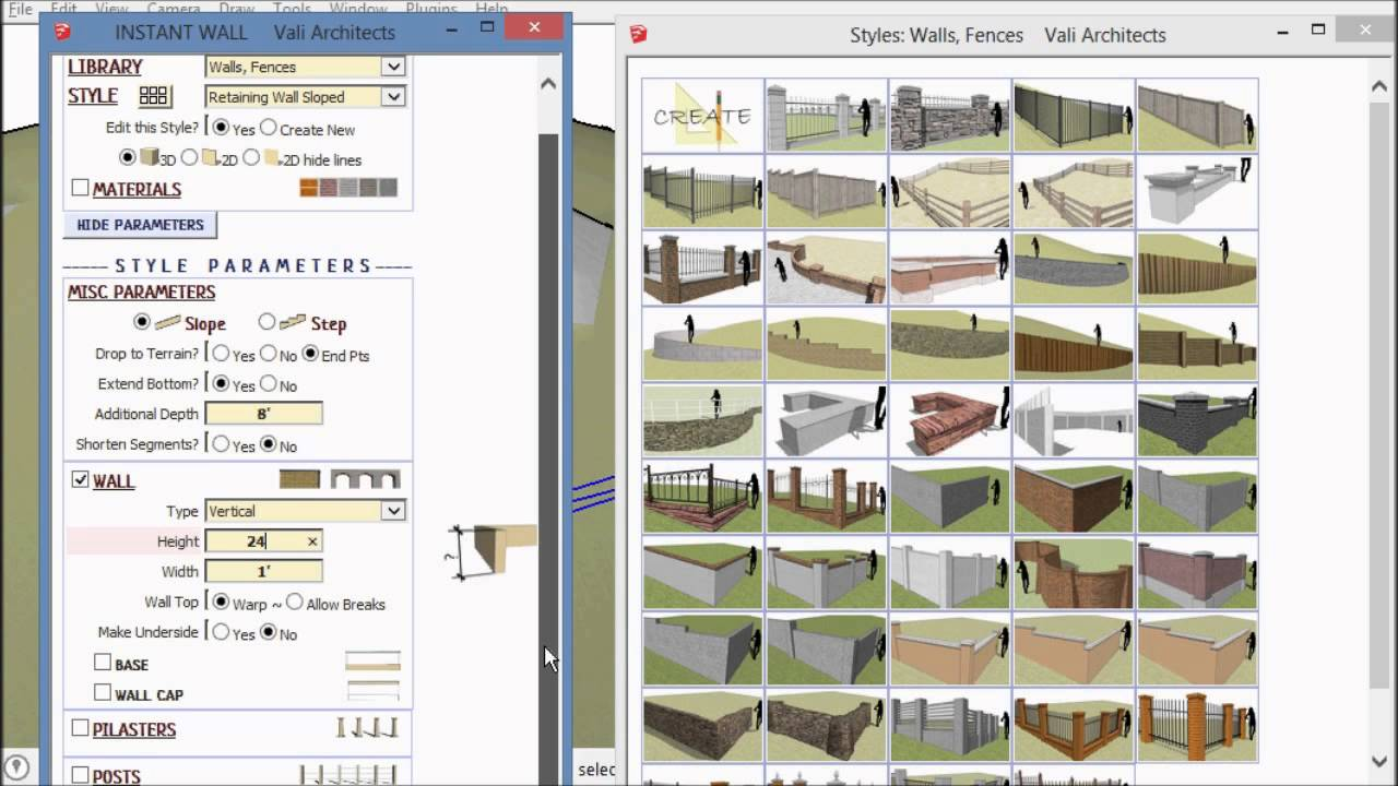 SketchUp Instant Site Grader Nui Overview