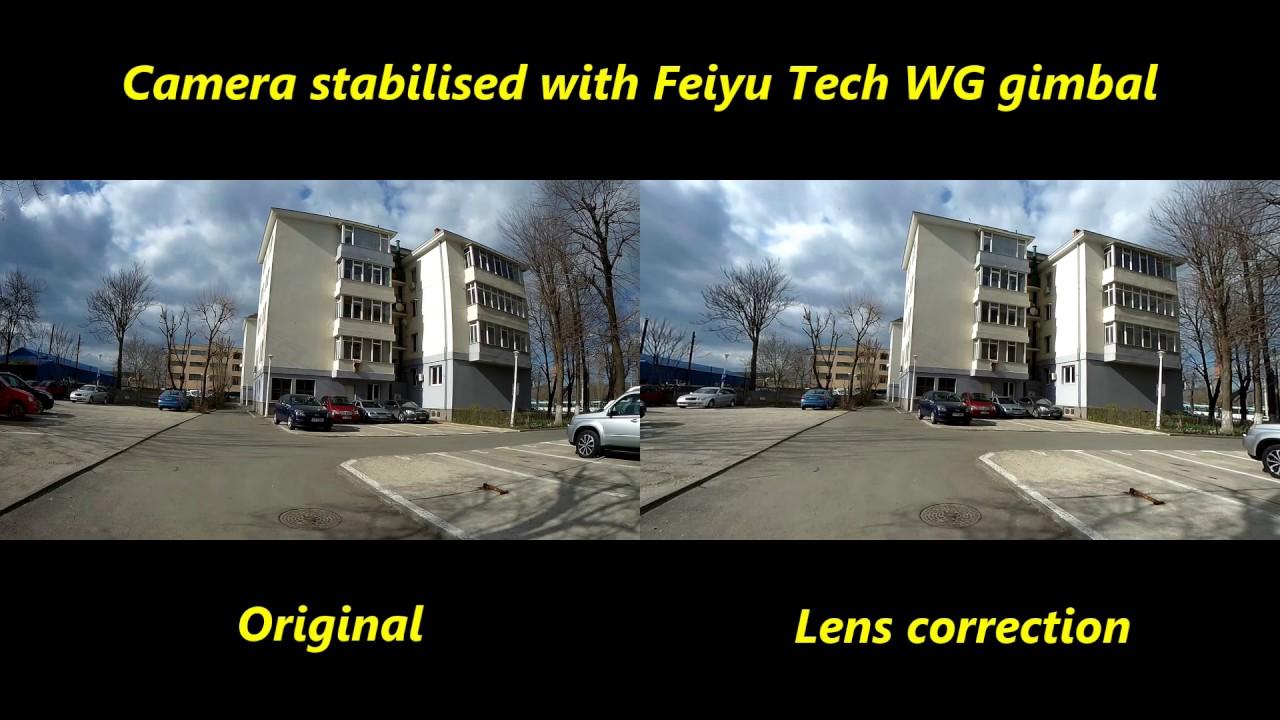 Fisheye Lens Correction Test SJ6 Legend and Cyberlink Powerdirector