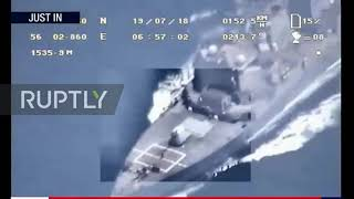 Iran Tehran Releases Footage 'proving Us Did Not Shoot Down Drone'