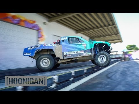 [HOONIGAN] DT 110: 500HP Truck 180s Off The Dock (Brenthel Bros)