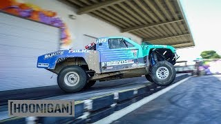 [HOONIGAN] DT 110: 500HP Truck 180s Off the Dock (Brenthel Bros) thumbnail