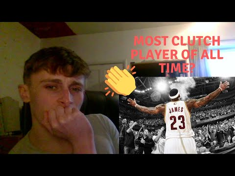 British Soccer Fan Reacts To Basketball - LeBron James Top 10 Plays Of His Career