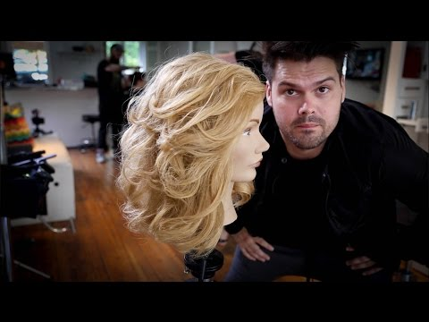 Layered Haircut For Long Thick Hair Matt Beck Vlog 49 Youtube