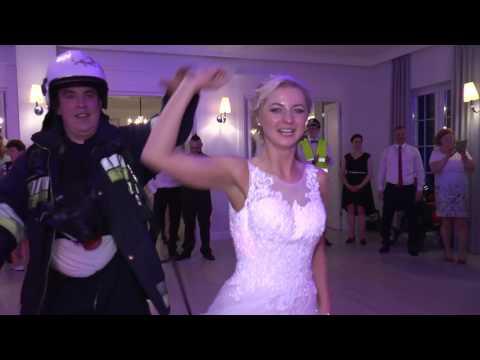 Pali się!!! Straż pożarna na weselu Justyny & Mirosława (the best wedding)