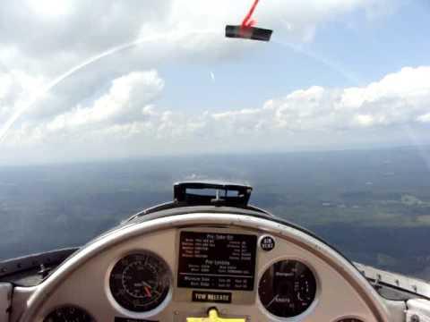 Glider tow RWY 23 Saratoga County NY