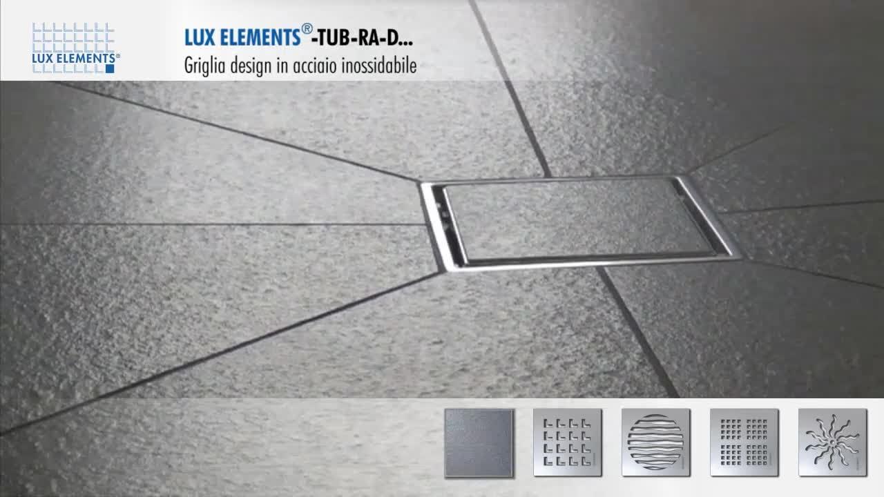 Prodotto Lux Elements Griglia Design In Acciaio