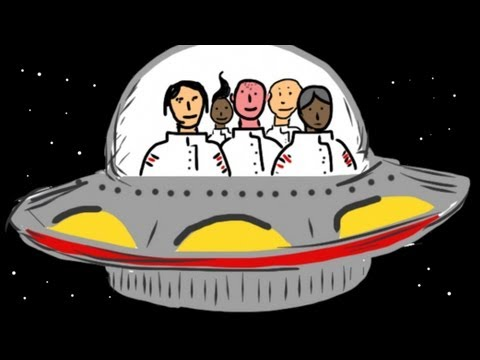 5 Little Men in a Flying Saucer