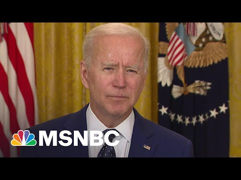 Biden 'Prepared To Take Further Action' If Russia Continues Election Interference   MSNBC