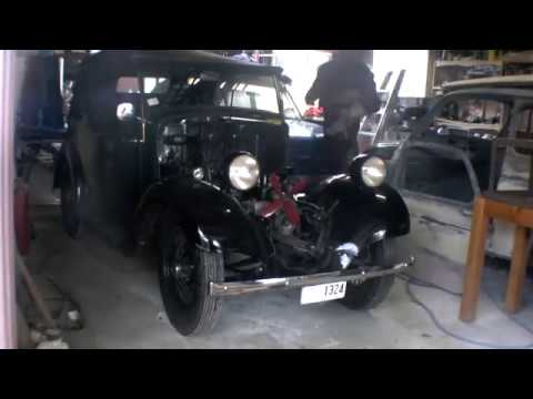 Austin 7 Engine disassembly