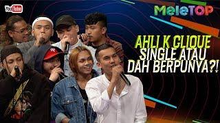 Ahli K Clique single atau dah berpunya! | MeleTOP | Nabil & Jihan Muse