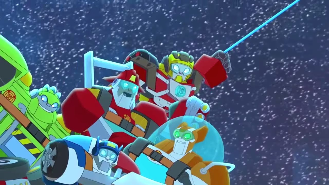Autobots in Space Spaceship Trouble ⚡️ Rescue Bots Academy   Full Episodes   Transformers Kids
