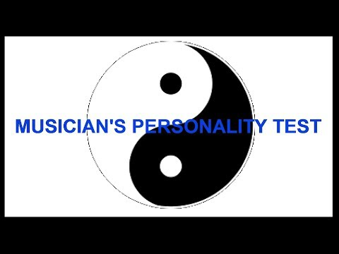 Musician's Personality Test - MusicOnline UK Podcast Episode 15 - Part 1