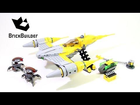 Lego Star Wars 75092 Naboo Starfighter - Lego Speed Build - YouTube