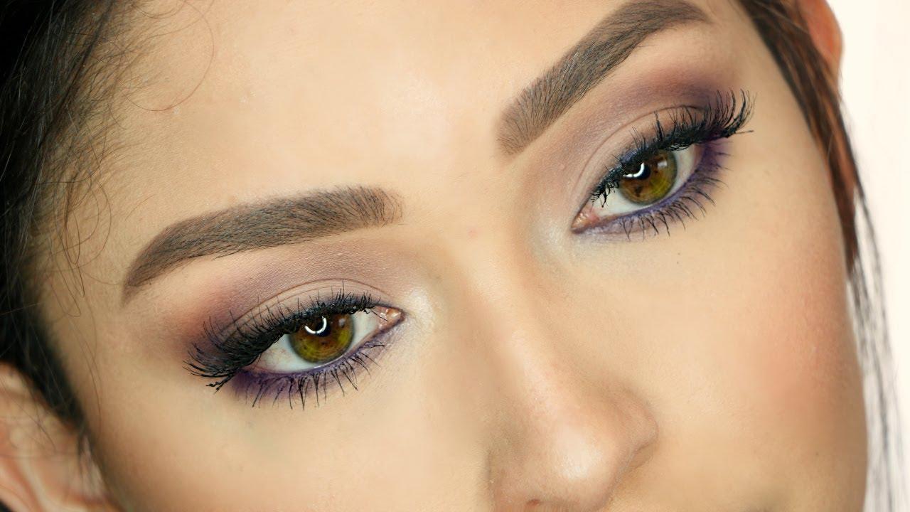Maquillaje para ojos caf s tonos morados youtube - Para ver fotos ...