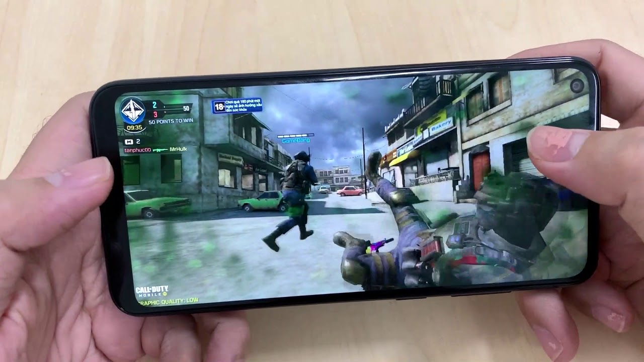 Test Game COD Call Of Duty On SamSung Galaxy A11 - YouTube
