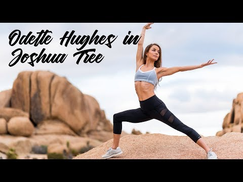 Odette Hiughes & Public Myth photo shoot in Joshua Tree, CA