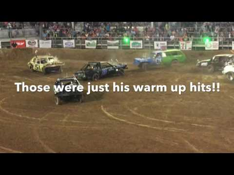 Demolition Derby in Nephi Utah 2016