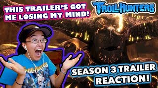 THAT REVEAL THOUGH! | Trollhunters Season 3 TRAILER REACTION!
