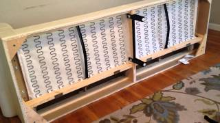 How To Build Put Together Instructions IKEA ETORP Loveseat With Chaise Lounge Video