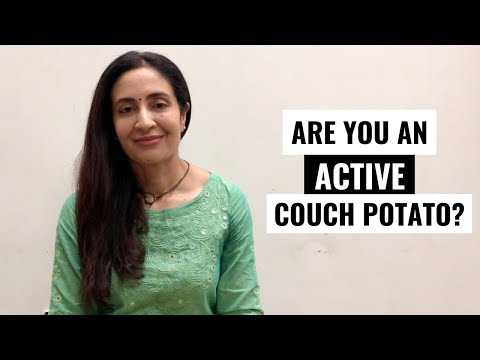 Are you an active couch potato?