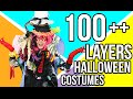 100 LAYERS OF HALLOWEEN COSTUMES