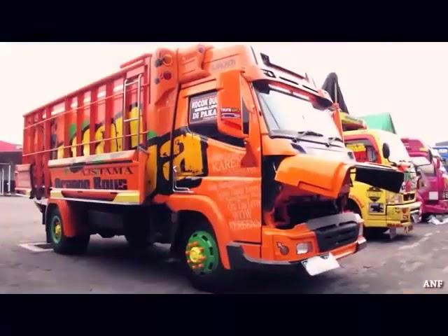 Kontes Modifikasi Truck Jakarta Expo Bersama Anti Gosip Dan Truk Modifikasi Lainya