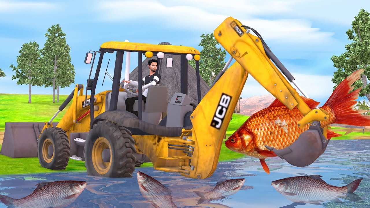 जेसीबी विशाल मछली JCB Giant Fish Comedy Video Hindi Kahaniya हिंदी कहानिय  Funny Stories in Hindi