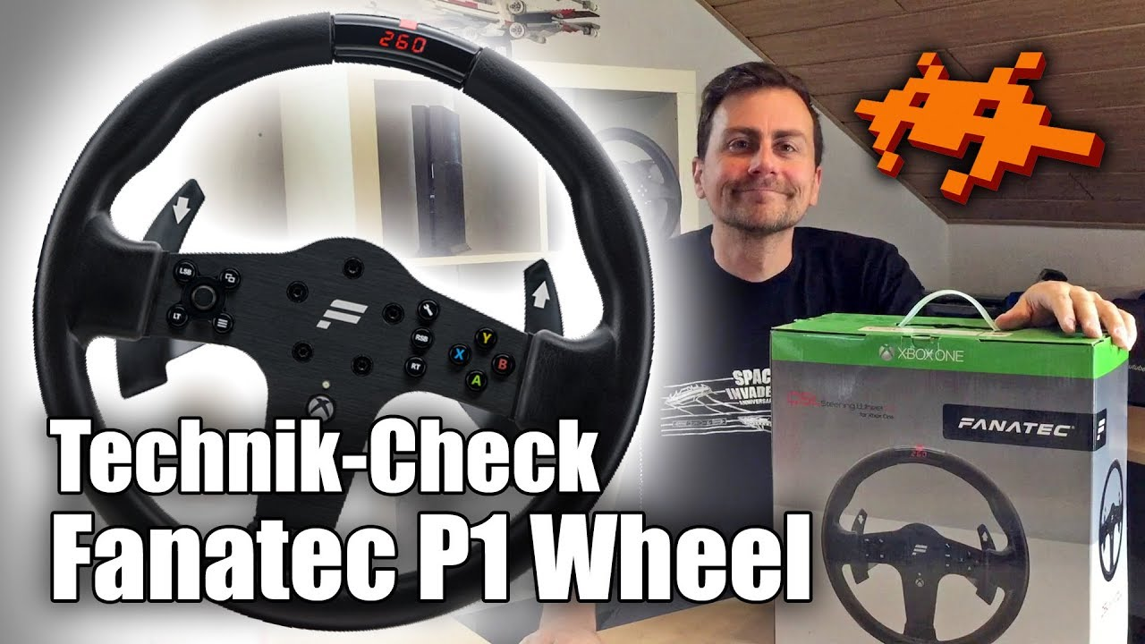 test fanatec csl p1 wheel lenkrad forza 7 xbox one. Black Bedroom Furniture Sets. Home Design Ideas