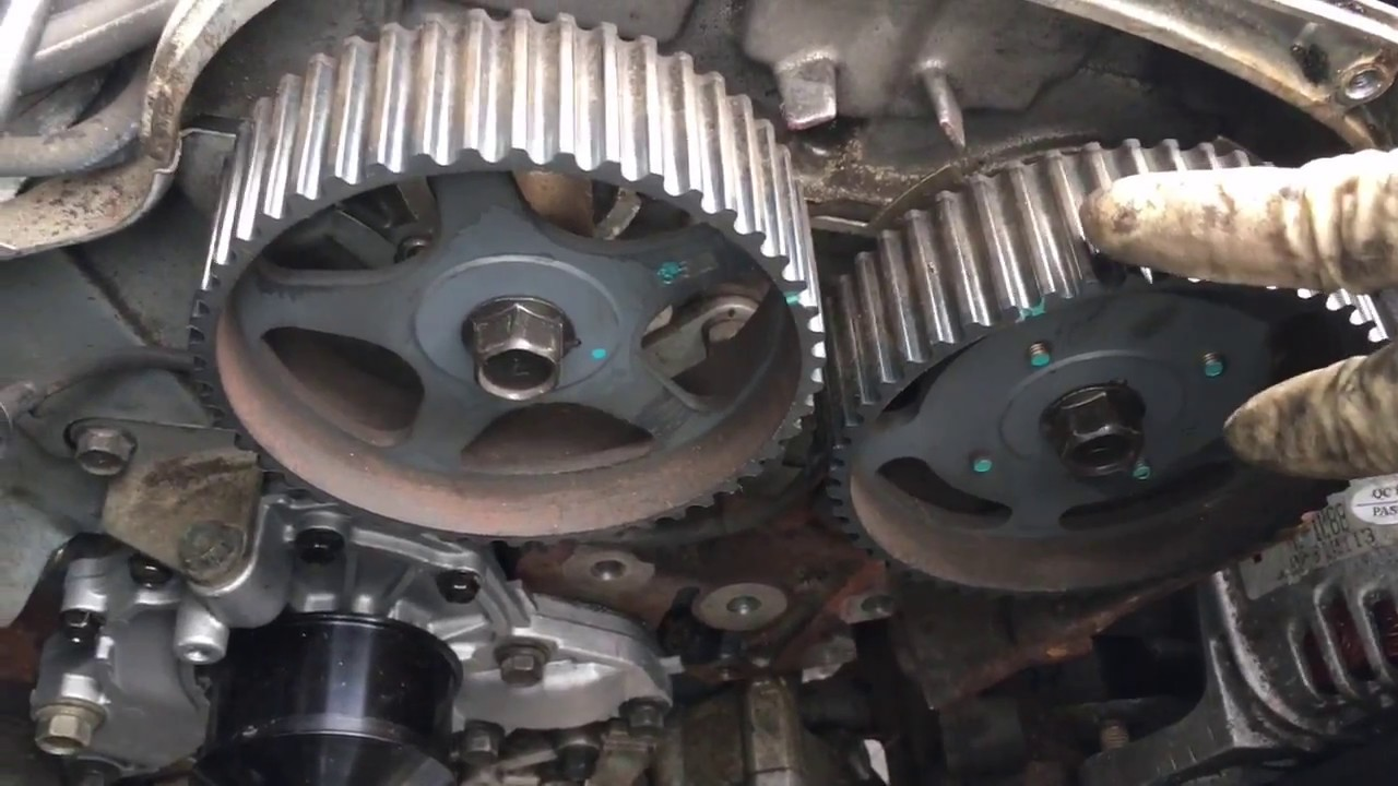 how replace timing belt