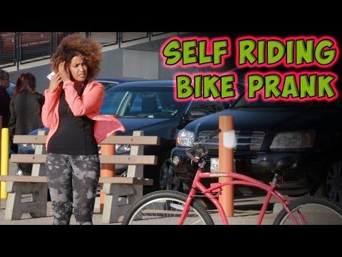 Self Riding Bike Prank