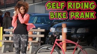 Self Riding Bike Prank