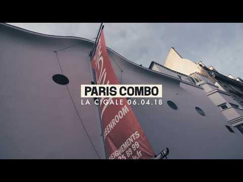 "PARIS COMBO // Live@la Cigale In Paris (extracts Dont ""Living Room"", ""Tako Tsubo""))"