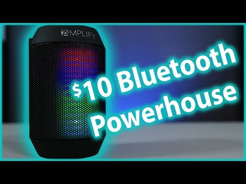 Bluetooth Speaker on a Budget | Aduro Amplify LED Speaker Review | BrightSound Mini Review