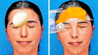 29 CRAZY BEAUTY HACKS THAT WORK WONDERS || DIY MASKS AND MAKEUP