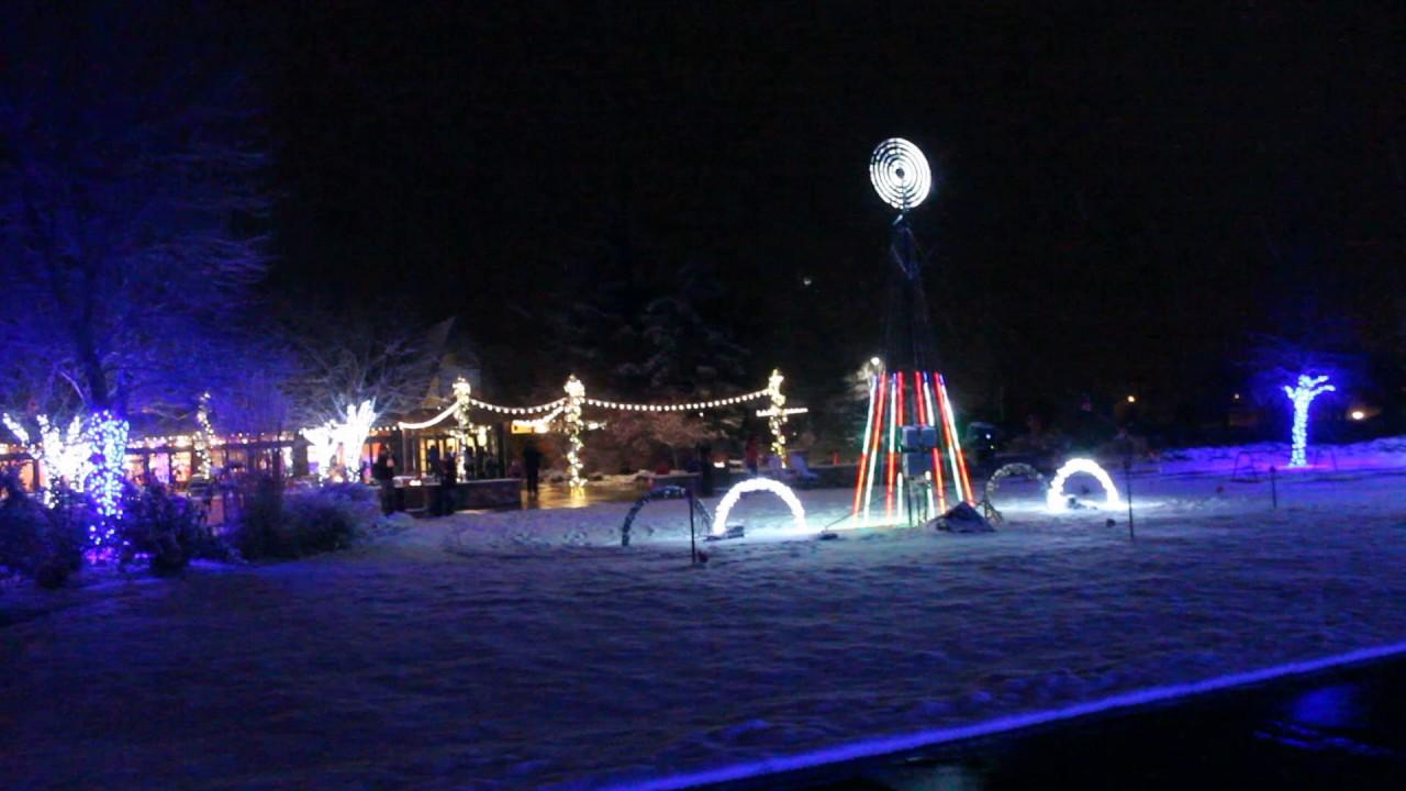 Brewery Lights Budweiser Fort Collins YouTube - Budweiser Christmas Lights
