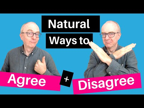 How to AGREE and DISAGREE in IELTS Speaking