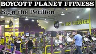 Let's Boycott Planet Fitness, Who Allow Any Man, Identifying As A Women To Use Womens Locker Rooms!