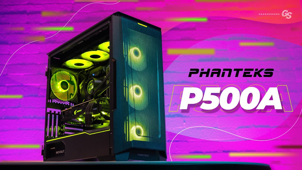 Phanteks Eclipse P500A: Total Eclipse Of The Heart