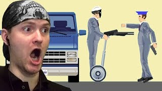 ОГРАБЛЕНИЕ ПО ХЭППИВИЛСОВСКИ ► Happy Wheels 150 Хэппи Вилс