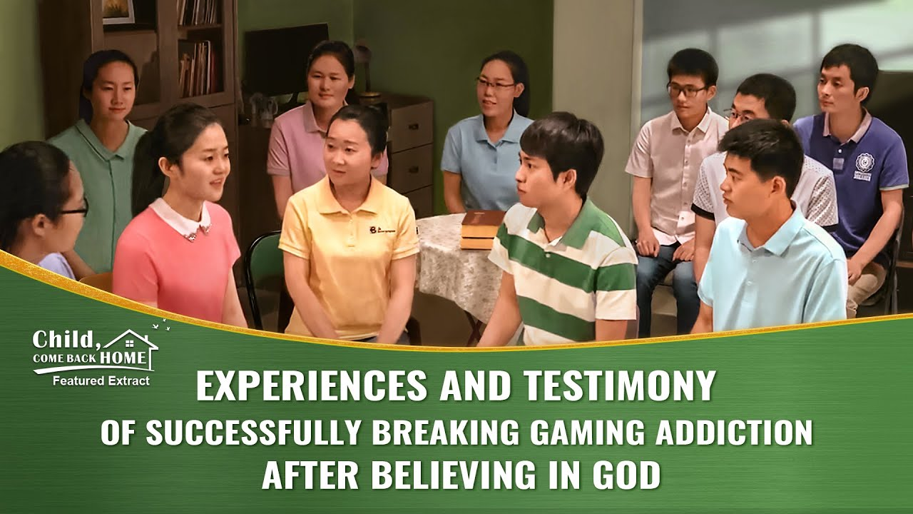 """Christian Movie Extract 4 From """"Child, Come Back Home"""": Experiences and Testimony of Successfully Breaking Gaming Addiction After Believing in God"""